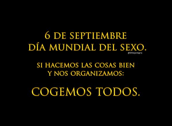 dia internacional del sexo
